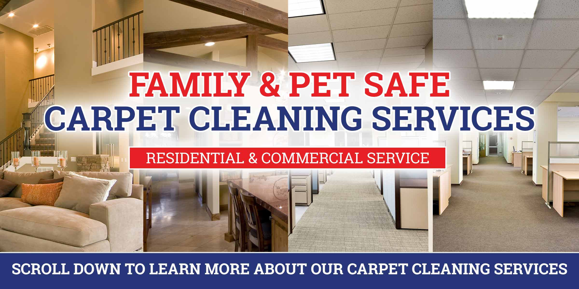 family and pet safe carpet cleaning services