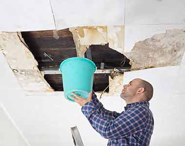 water damage cleanup material removal