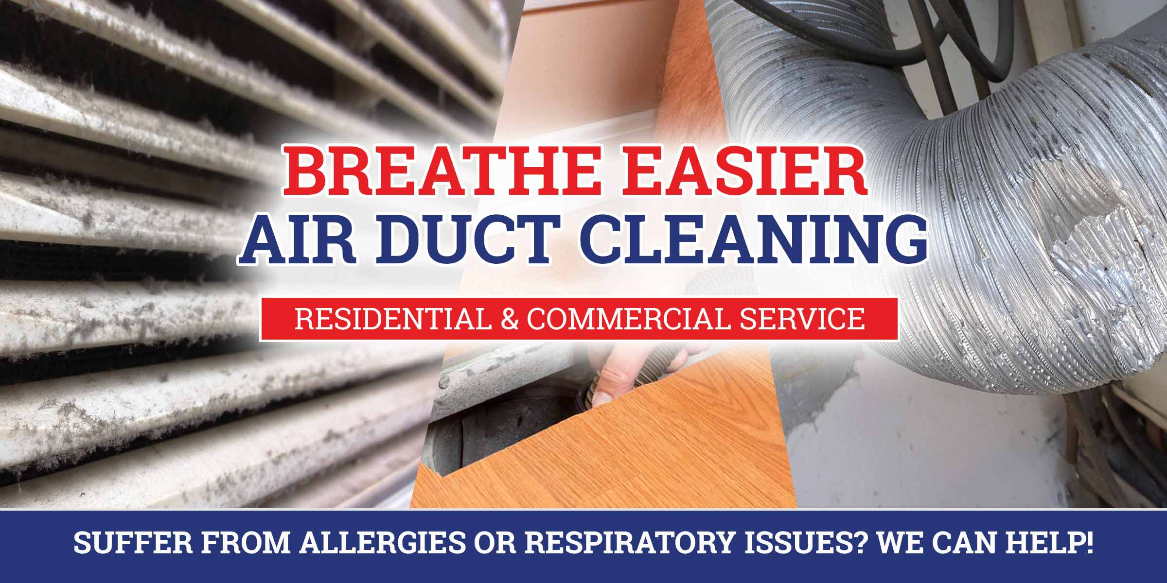 air duct cleaning for your home or business